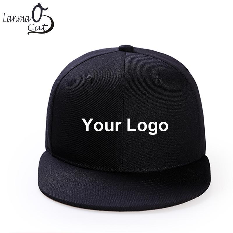 Regolabile Stampato Cappello vostri disegno stampato Cappelli Hip Hop su misura solido Hip Hop di colore Cap spedizione gratuita