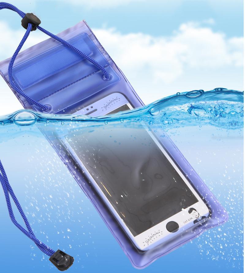 Universal 5.7Inch Men Women Outdoor Mini Swimming Waterproof Case Bag Underwater for Phone iphone x 8 plus For Samsung S9 S8