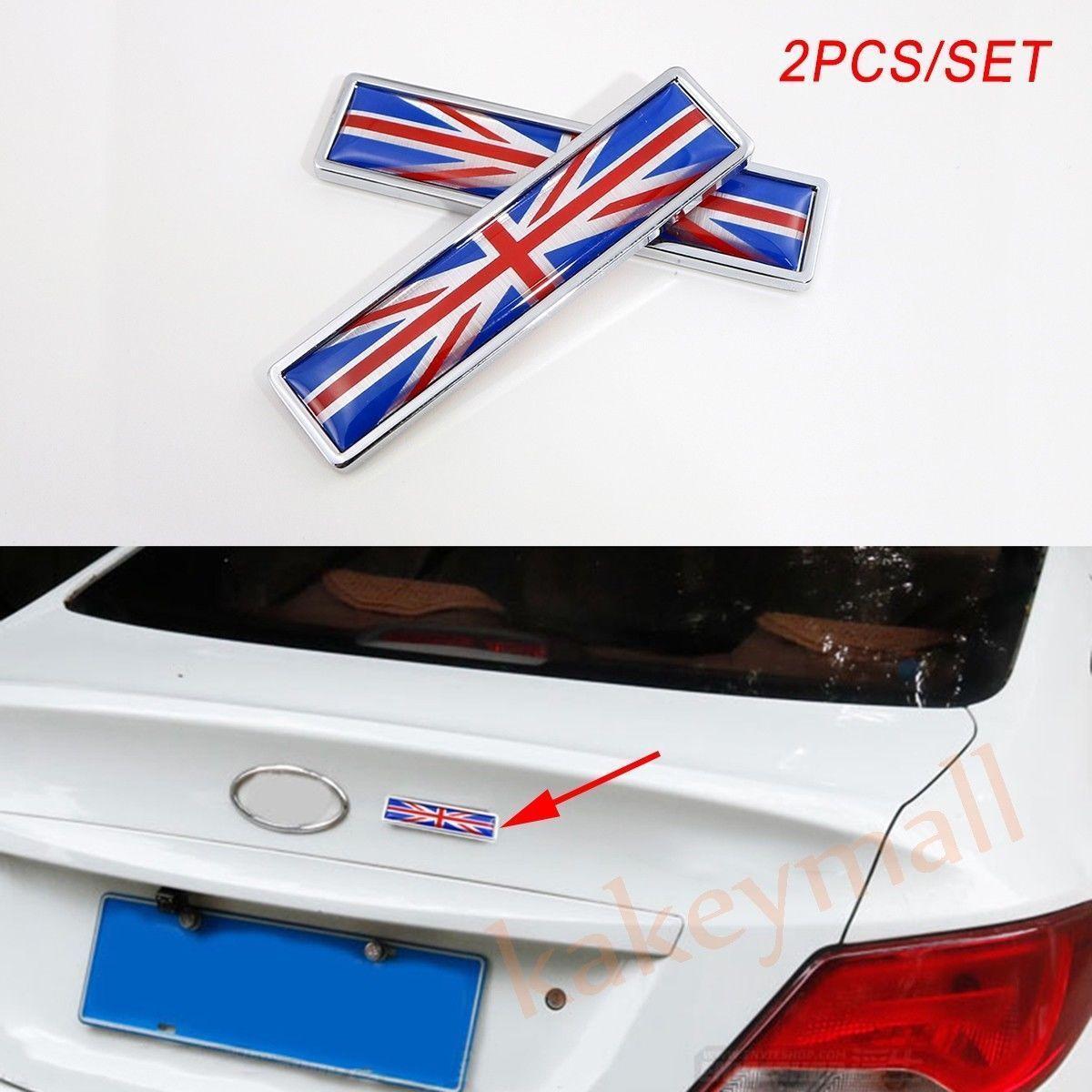 Traje Ford Etc Nuevo Reino Unido ~ Edición De Lujo Coche Insignia Emblema De Metal Cromado
