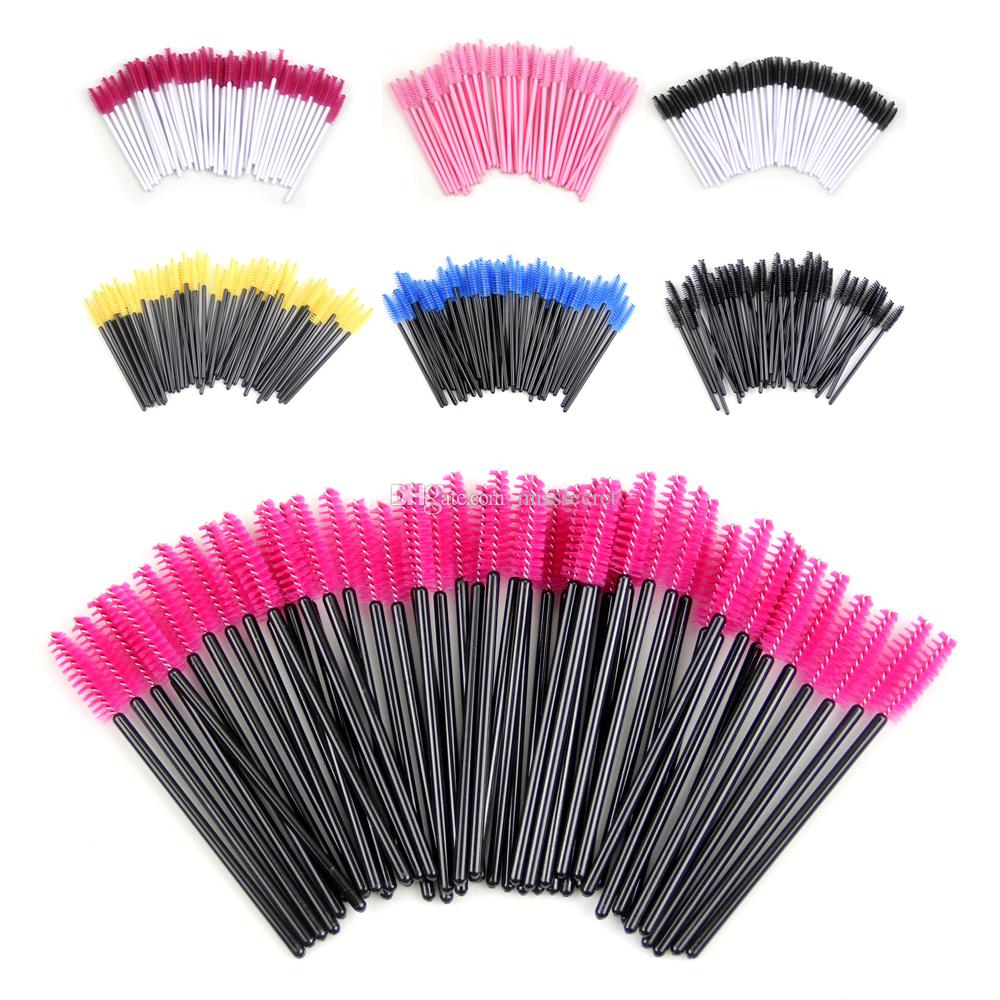 Disposable Eyelash Brush Mascara Wands Applicator Wand Brushes Eyelash Comb Brushes Spoolers Makeup Tool Kit maquiage