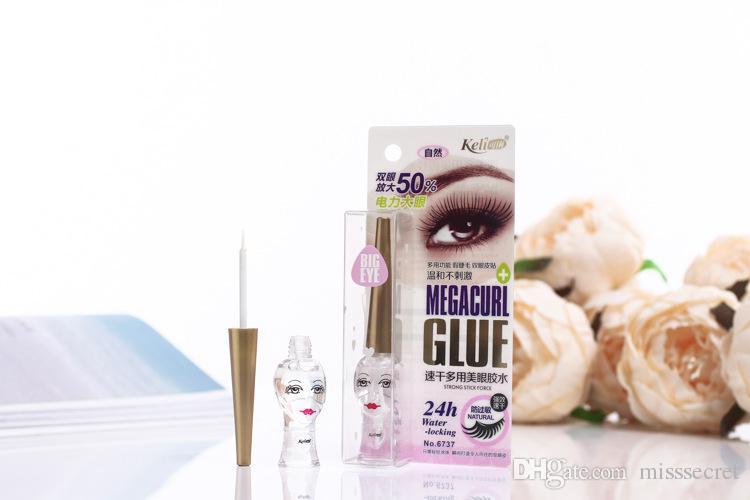 Nouveau colle pour cils à séchage rapide Cils Adhésif Étanche Cils Perm Glue Transparent Cilia Lifting Cils Extension Maquillage Outils 12 ml