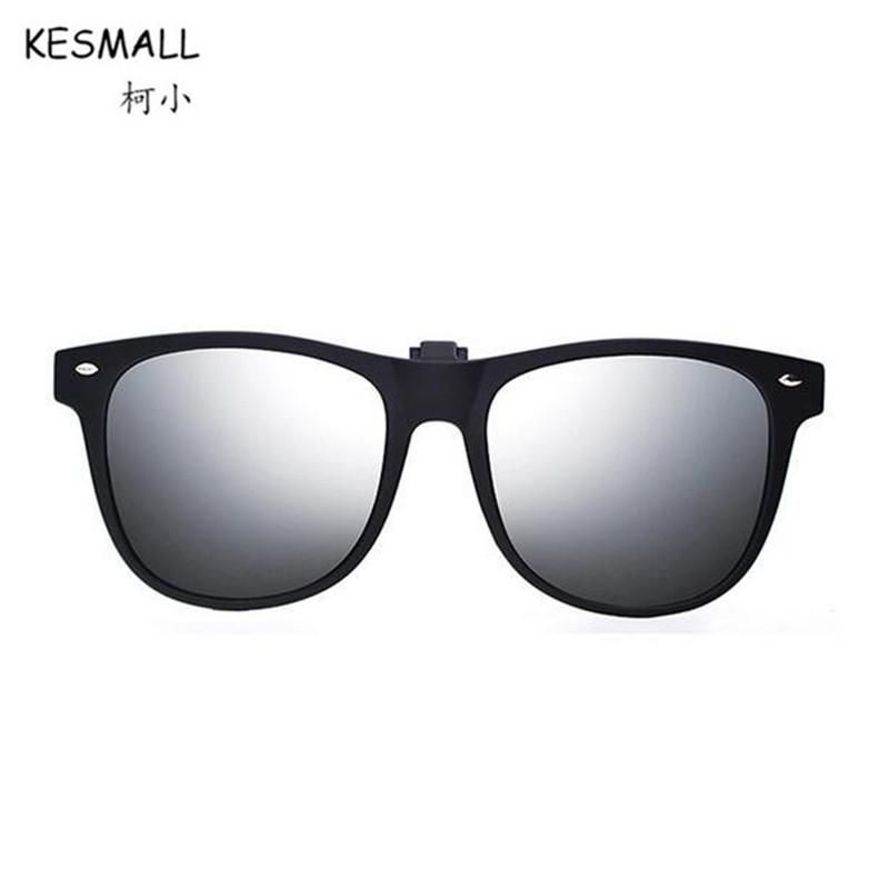 wholesale Summer Clip On Sunglasses Women Man Polarized TR90 Sun Glasses UV400 Yellow Night Driving Mirror Eyewear Oculos YL402