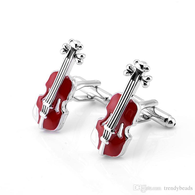 manufacturer violin mens Guitar cufflink