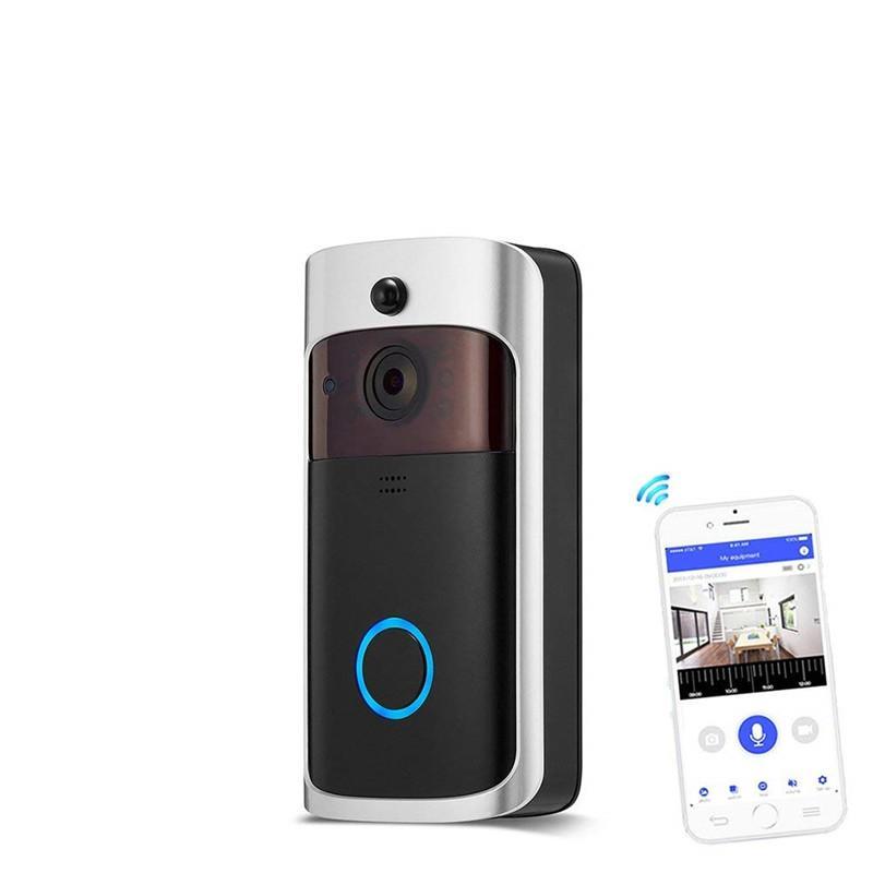Smart Home Door Bell Digital AC Doorbell Wireless Intelligent House Doorbells