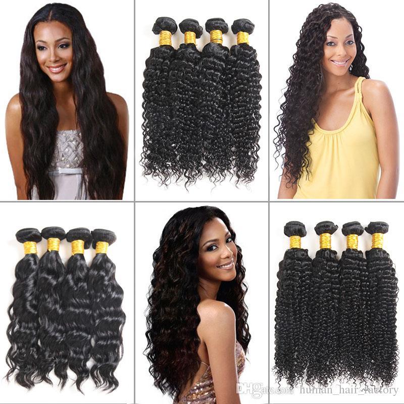 8A Mink Brazillian Deep Wave Hair Bundles Wefts 100% Unprocessed Water Wave Bundles Extensions Brazilian Kinky Curly Human Virgin Hair