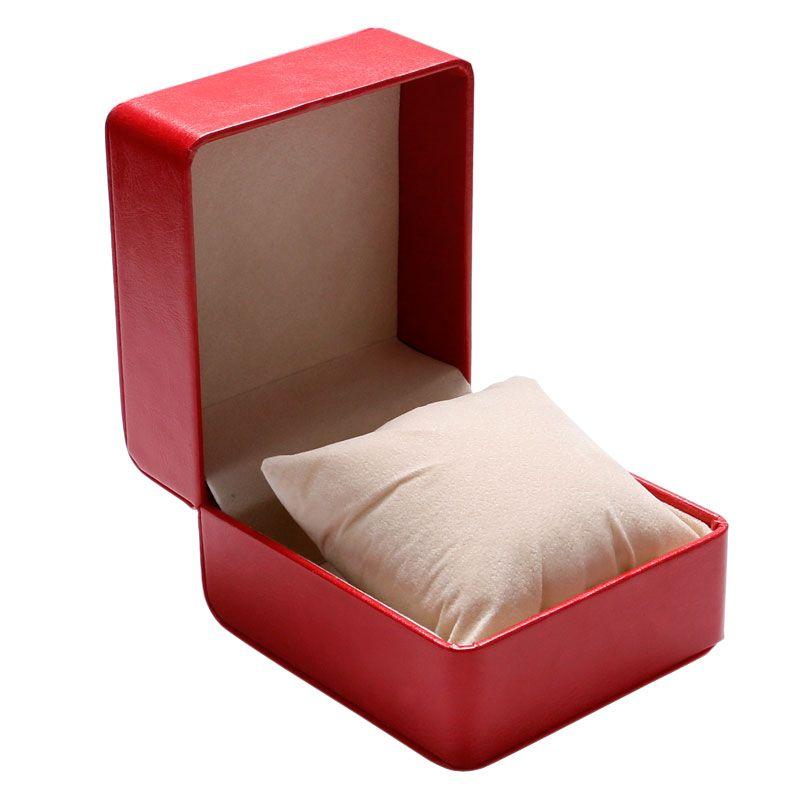 Caixa de Relógio bonito Mulheres Homens Relógios De Pulso Caixas Com almofada de espuma dentro da Caixa de Presente para pulseira / pulseira / relógio / jóias WB41