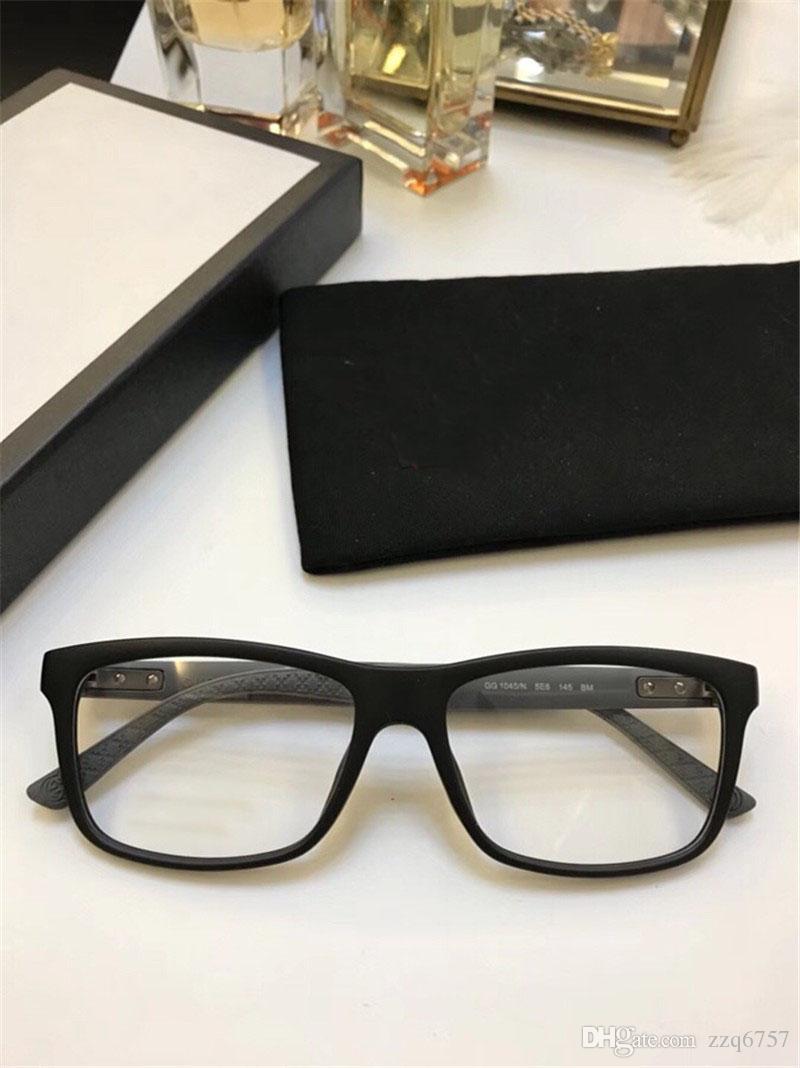 Yeni En Çok Satan Moda Optik Gözlük Kare Basit Çerçeve Popüler Cömert Rahat Tarzı Şeffaf Lens Çerçeve 1045