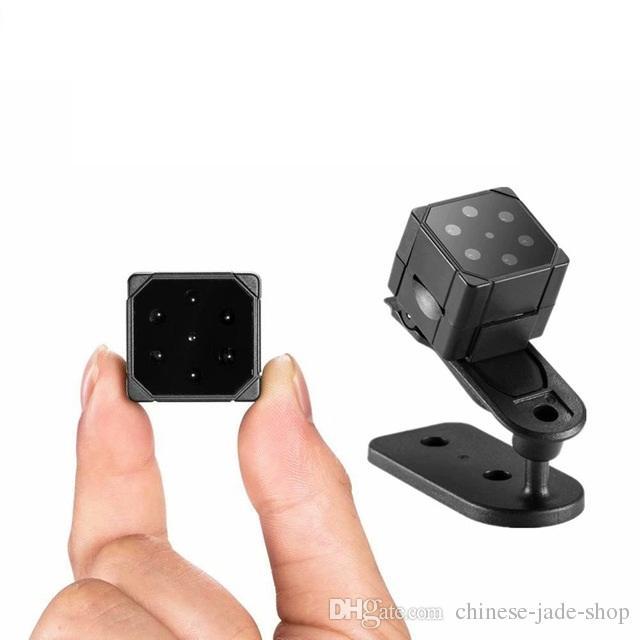 SQ19 Mini Camera HD 1080P Sensor Night Vision Camcorder DVR DV Motion Recorder Support 32GB TF Card Magnetic attraction 10pcs/lot