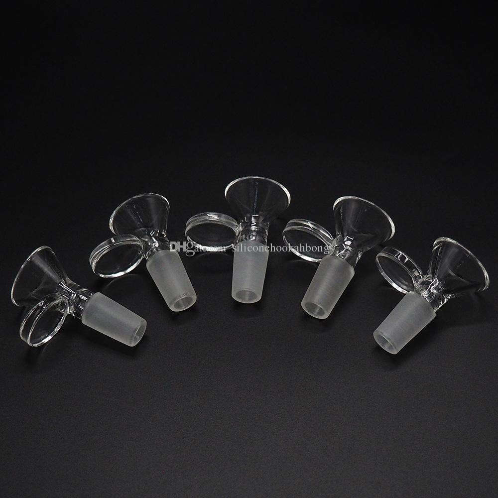ciotole in vetro di alta qualità per tubi di acqua in vetro e bong per fumatori ciotole formato 14mm
