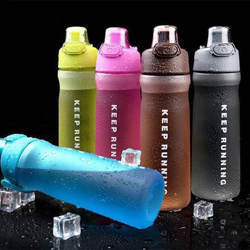 500/600 ML Mi Botella de Agua Deporte Ecológico Plástico BPA Libre de Viaje Al Aire Libre Bicicleta Bebida Deportiva Botella de agua de Alta calidad