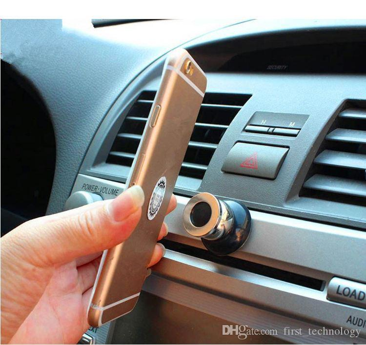 Hot Universal Car Phone Holder Magnetic Air Vent Mount Cell Phone Car Mobile Phone Holder Stand Mobile Accessories