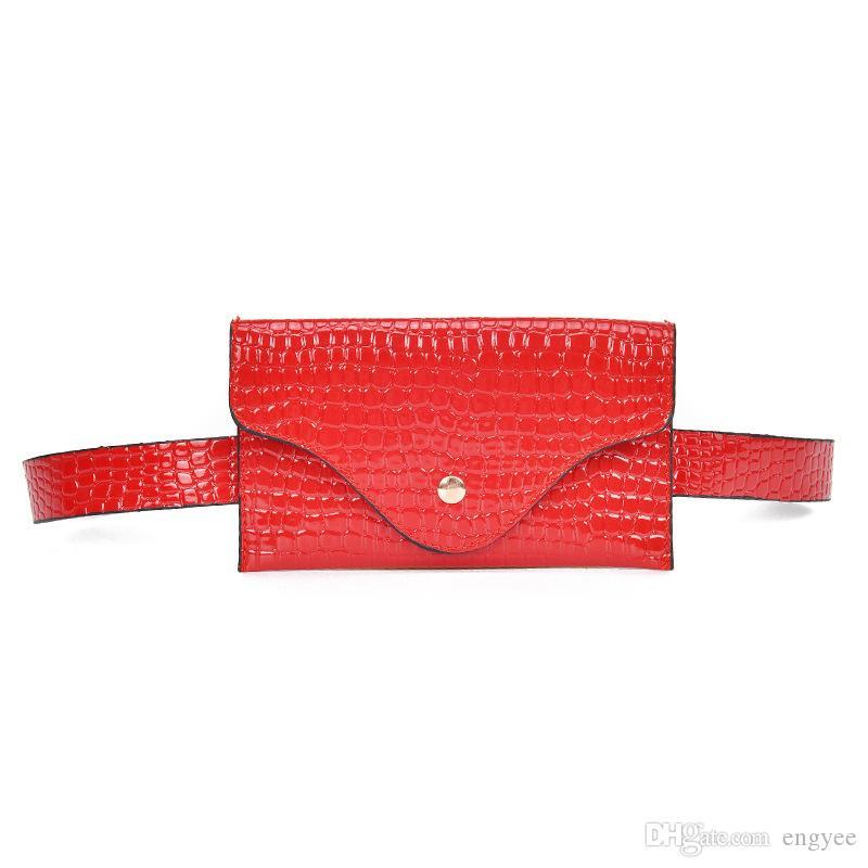 Vintage Leder Taille Beutel Damen Handytasche Brieftasche Gürtel Frauen Designer Hüfttasche Marke Gürtel Gürteltasche Kleine Brust Pack