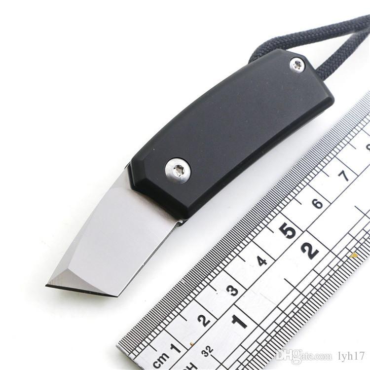 Mały Sawyer Mini Składany Nóż D2 Ostrze Tytanium Uchwyt Na Zewnątrz Camping Noże Otwieracz do butelek Wkrętak Multi EDC Tool Cena: US $ 23.99 /