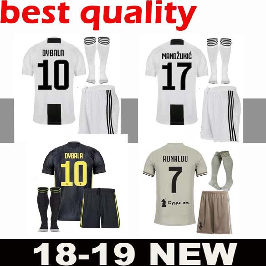 2020 Free Ship Champions League 2018 Adult Ronaldo Juventus Soccer Jersey Men Kit 18 19 Away Home 3rd Dybala Costa Mandzukic Juve Football Shirt From Jerseys Thebest 15 79 Dhgate Com