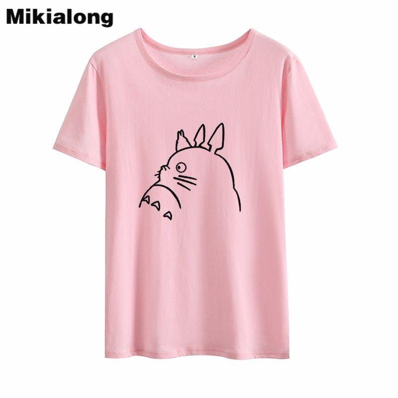 Women's Tee Mrs Win Ulzzang Graphic T Shirts Women Japanese Cartoon T Shirt Women Cotton Korean O - Neck Summer Women Tops Tee Shirt Femme