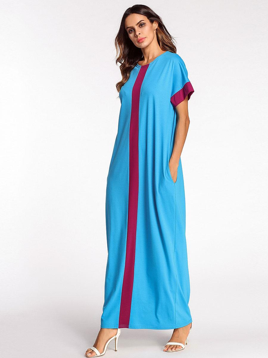 Acheter 3187085 Couture Robe Musulman Robe Saoudite Jupe Longue Grande Taille Robe Femme Musulman Robe Abaya Mujer Vestidos Faldas Arabe Robe Lâche De