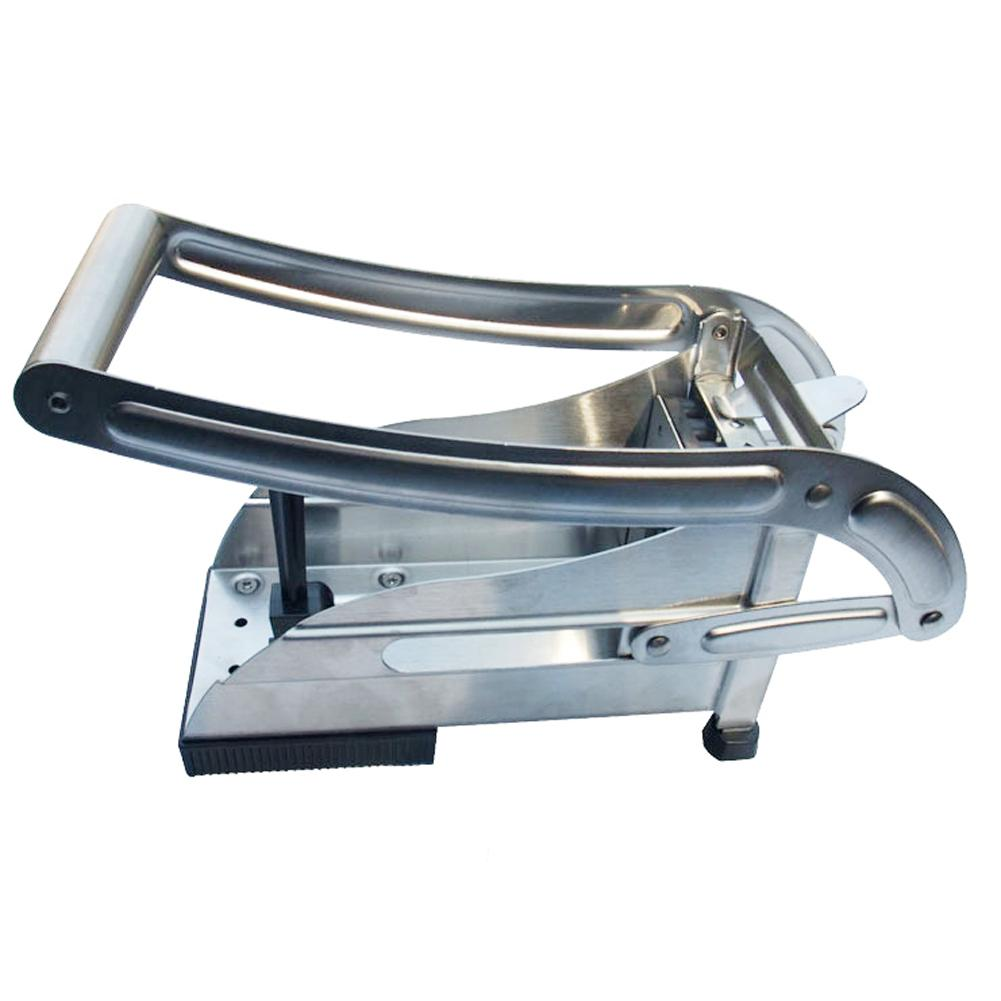 Eco-Friendly macchina trituratore di patate in acciaio inox patatine fritte affettatrice tagliaverdure cucina strumento di cottura patatine fritte