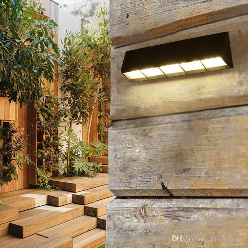 Moderna lámpara de pared a prueba de agua al aire libre Retro led luz exterior Patio Jardín Lámparas Iluminación exterior led luz de pared exterior