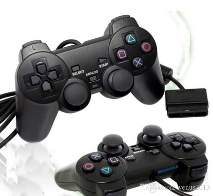 Hot sale Wired Controller For PS2 Double Vibration Joystick Gamepad Game Controller For Playstation 2 M-JYP