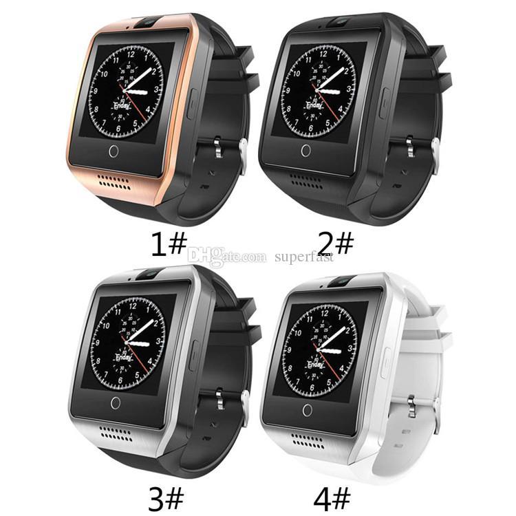 Sport Uhr Q10 Smart Watch Bluetooth Smart Uhren Für Android Handys  Unterstützung SIM Karte Kamera Anruf Annehmen Und Einrichten Verschiedene  Sprache