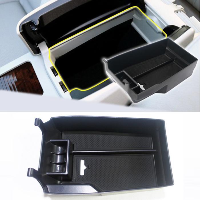 Mercedes Benz C Sınıfı Benz için Araba Organizatör W204 2008-2013 Merkezi Kolçak Saklama Kutusu İstifleme Aksesuarları, Araba Styling
