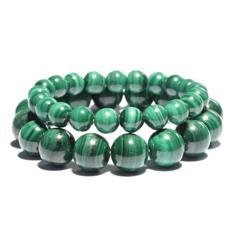Natural Stone Chakra Bracelets Charm Quartz Malachite Women Fashion Jewelry Handmade DIY HOT Beads Jewelry