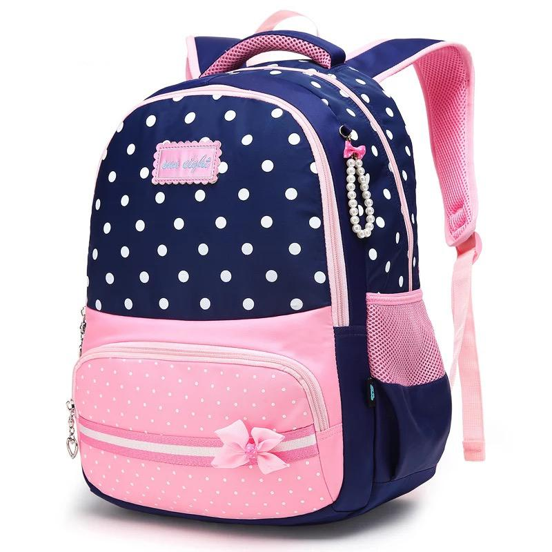 new design the latest popular brand New Arrival Waterproof Girls School Bags Fashion Backpack Kids SchoolBag  Big Capacity School Backpack Girl Bow Hydration Backpacks Discount Jansport  ...