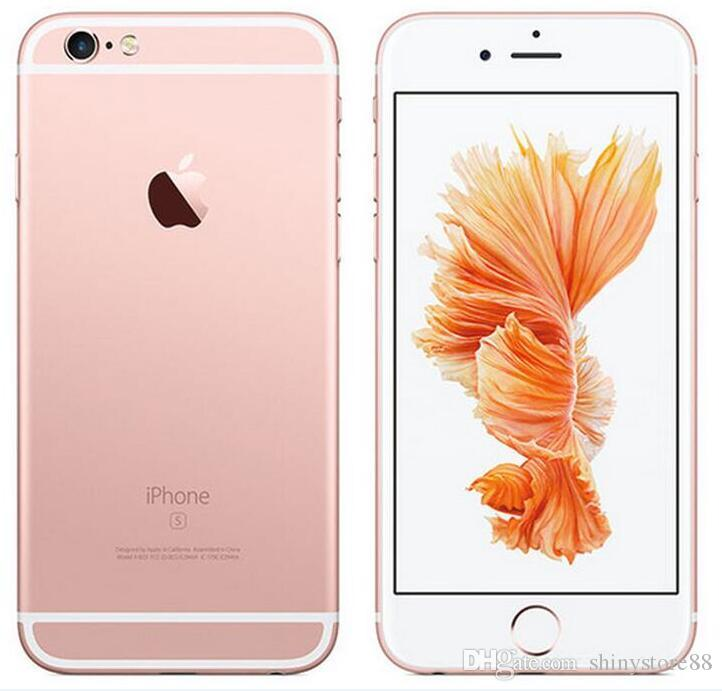 Original Apple iPhone 6S With Touch ID Dual Core 16GB/64GB/128GB IOS 11 4.7 Inch 12MP Refurbished Factory Unlocked Phone