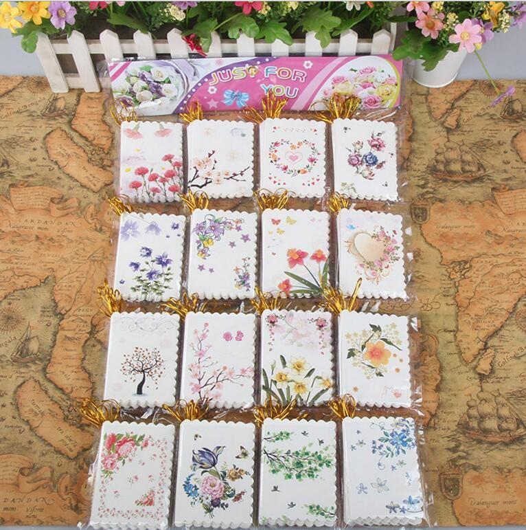 꽃 미니 인사말 카드 감사 카드 생일 크리스마스 카드 봉투 쓰기 종이 편지지 크리스마스 선물 장식