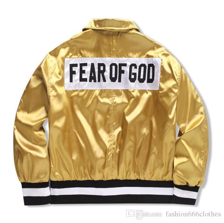 2018 Fifth Collection BIEBER street brand Abbigliamento Abbigliamento Uomo giacche kanye west hiphop streetwear abiti estivi