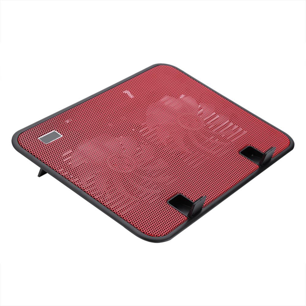 """Freeshipping супер тихий ноутбук кулер охлаждения Pad базы USB 2 вентиляторы стенд для 10"""" до 14 """" ноутбук"""