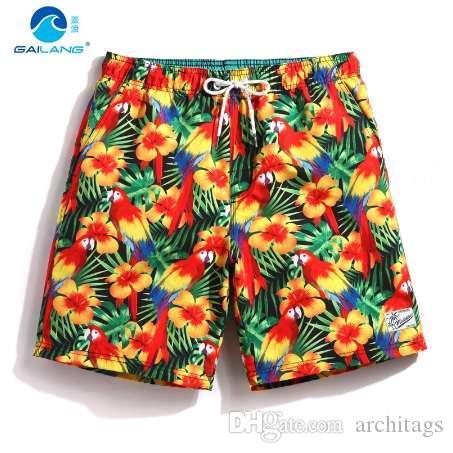 Été hommes board shorts maillots de bain voyage sweat liner imperméable lâche maillot de bain maillots de bain hommes plage courte surf plavky