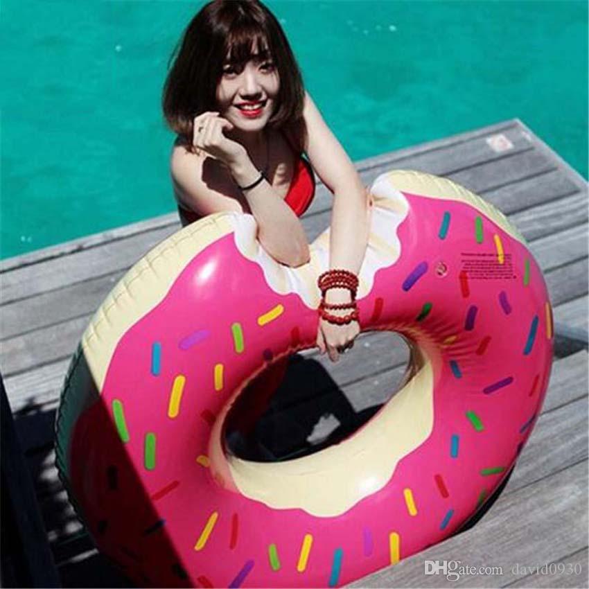 Anneau gonflable de natation d'ananas géant de 80CM pour le tube d'eau de flotteur de piscine de partie de piscine d'été de parti d'adultes