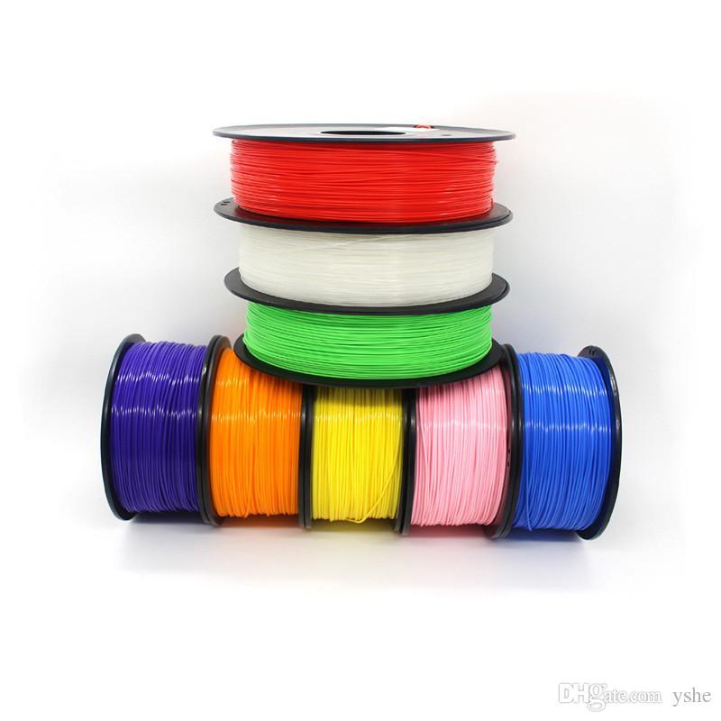 1KG / Roll ABS 1.75mm 3D Filamento Stampante per Stampanti da Disegno 3D forniture Penna da Stampa Reprap Wanhao Makerbot UP Parti Tolleranza 0.02mm