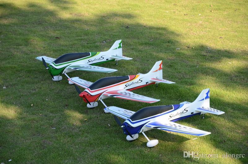 EPO rc uçak 3A spor RC uçak / RC model HOBİ OYUNCAK 15E Wingspan 1000MM F3A Skylarks RC uçak (kit grubu veya PNP kümesi)