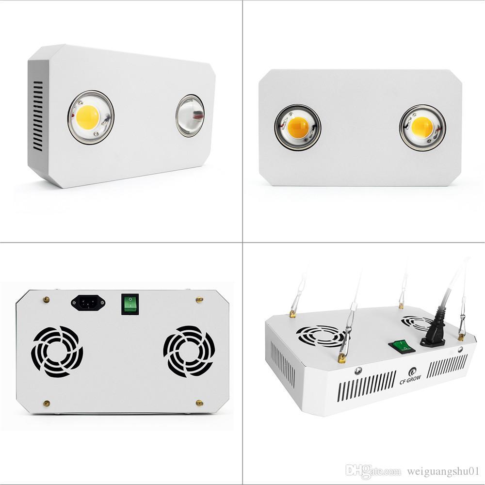 CTZ-X2 COB LED Grow Light Full Spectrum 300W 3500K Mix 5000K = HPS Growing Lamp for Indoor Plant Veg Flower Lighting