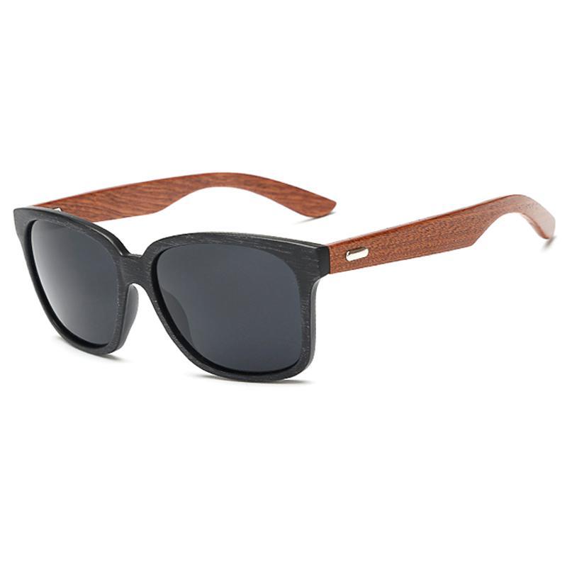 2018 Rays Designer Gafas de sol de madera del marco Unisex Wood Foot Men Goggles uv400 Gafas de sol para mujeres gafas de sol hombre