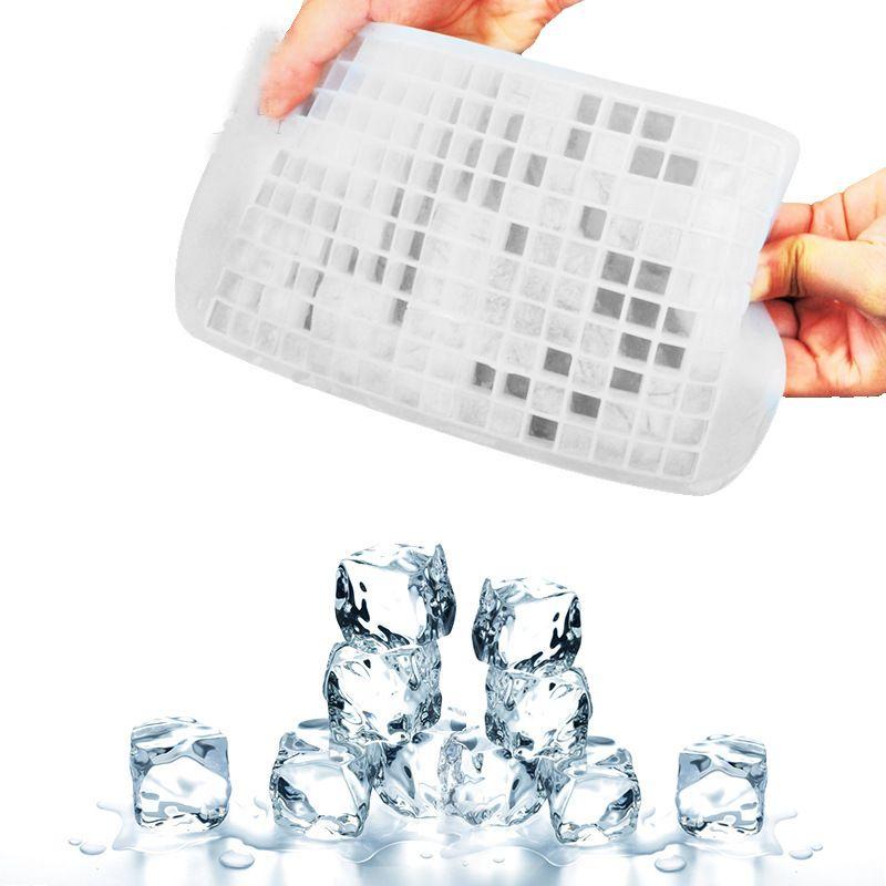 Ice Maker Mold 160 Grid Cube Diamond Square hape/150 Grid Lover Heart shape Silicone Mini ice Tray Mold Ice Chocolate Baking wn081C