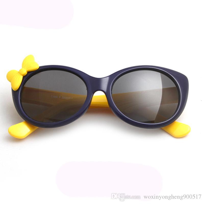 Bambini di lusso occhiali occhiali occhiali UV400 occhiali da sole per bambini Occhiali da sole Occhiali da sole polarizzati TR90 TR90 Brame Boy Girls Carino Cool Eyewear Bambini Roevx