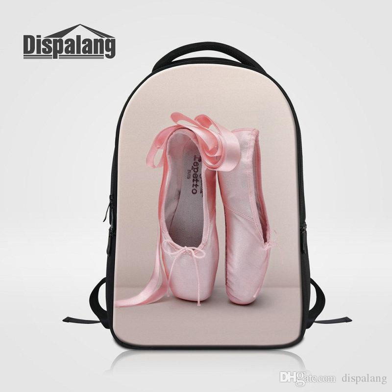 3D Ballet Girl Printing School Backpack Women's Fashion Travel Shoulder Bags Mochilas Mujer Female Laptop Bag Rucksack Ladies New Sac A Main