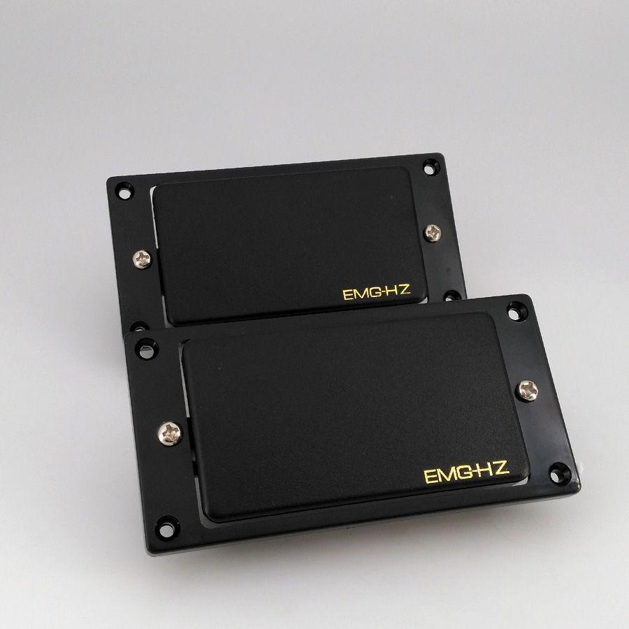 재고 무료 배송 중국 일렉트릭 기타 EMG HZ 수동 픽업 4 개 케이블 목과 다리 픽업