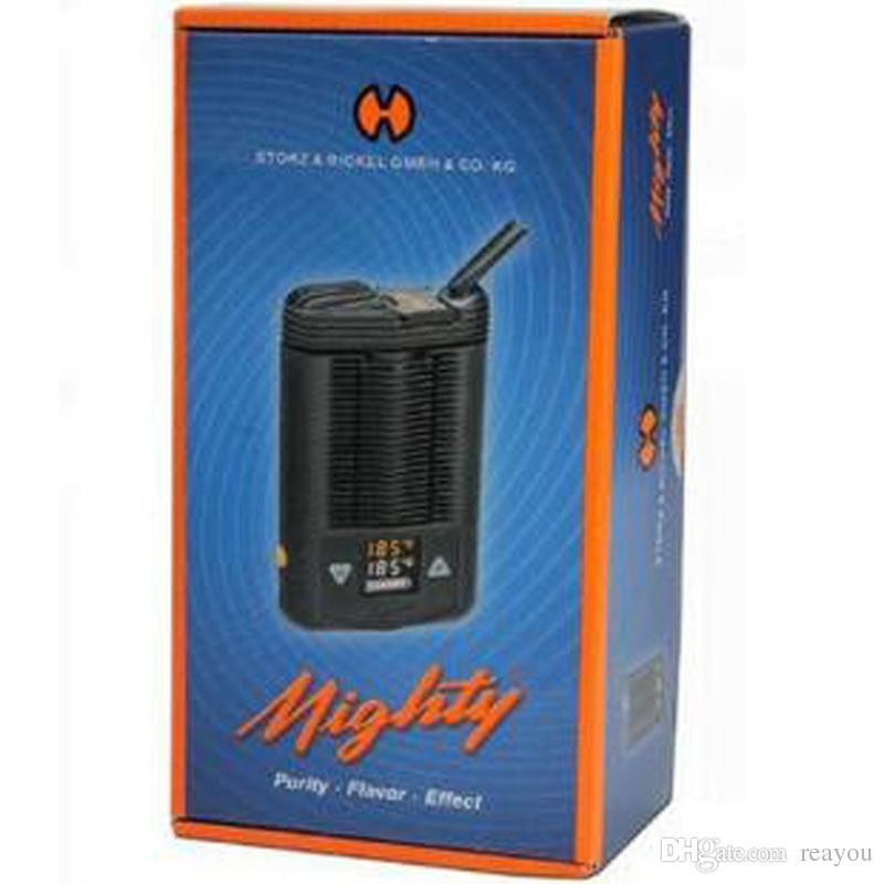 Mighty v3 vaporizzatore a base di erbe secco E batteria alimentato a batteria Pocket temperatura regolabile vaporizzatore v3 Mighty vaporizzatore a base di erbe Box Mod Big Vape
