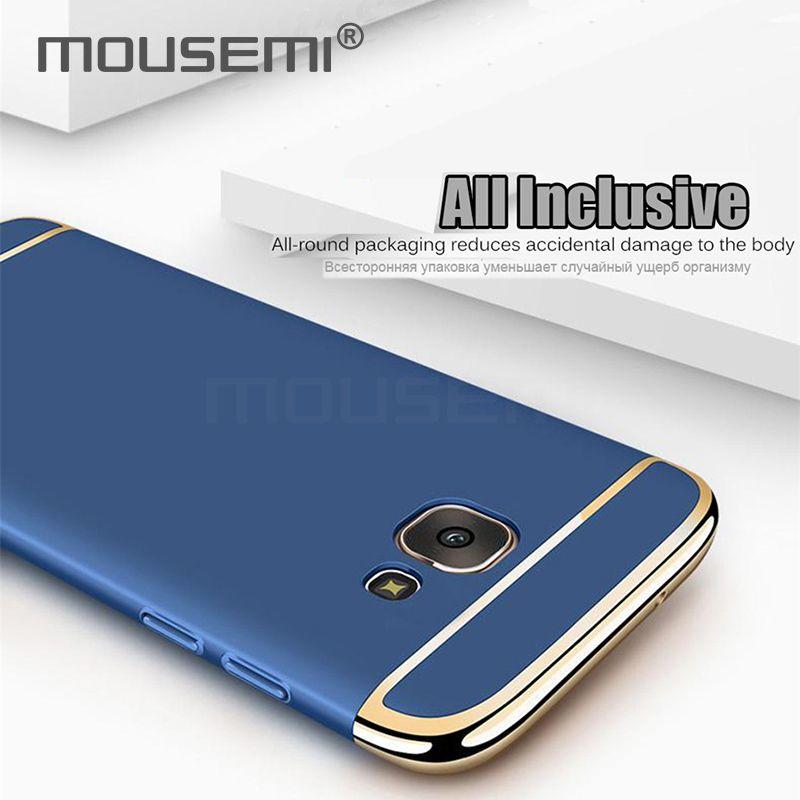 Estuches para Samsung Galaxy A3 A5 A7 2016 2017 Estuche de lujo para Samsung Galaxy A8 plus 2018 Estuche 360 Fundas completas Coque