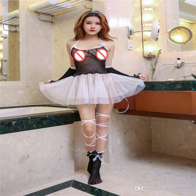 الملابس الداخلية منظور إغراء حزام مثير الدانتيل منامة باس النوم دعوى جنسي الملابس الداخلية فستان مثير إغراء شفاف زوجين لعب الجنس
