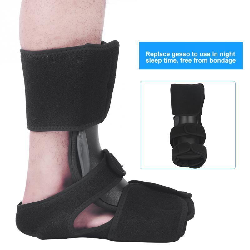 Ночь Нога Падение Ортопедические Алюминиевые Шины Brace Подошвенный Фасциит Фиксированной Поддержки Лодыжки Стабилизации Ноги Ортопедические Шина Brace