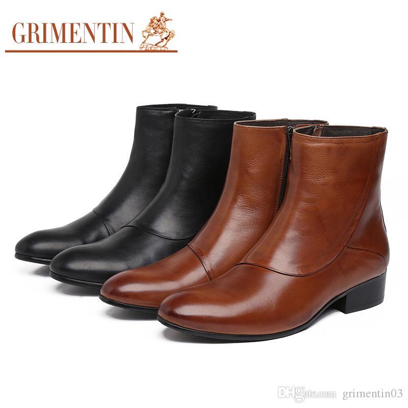 GRIMENTIN Hot Sale Brand Mens Boots