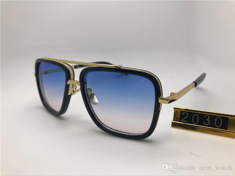 Hommes 2030 Lunettes de soleil New Retro Full Frame lunettes lunettes de soleil un nouveau mach Vintage Lunettes