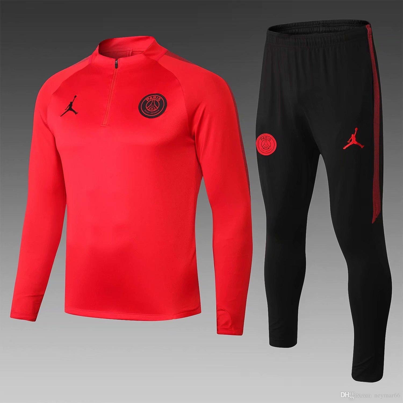 Acquista 2018 Saldi Da Campeggio Trekking 2019 New Psg Jacket 18 9 Paris Sportswear Home Felpa Nera Da Calcio Bianca Camicia Cavani Muta Da ...