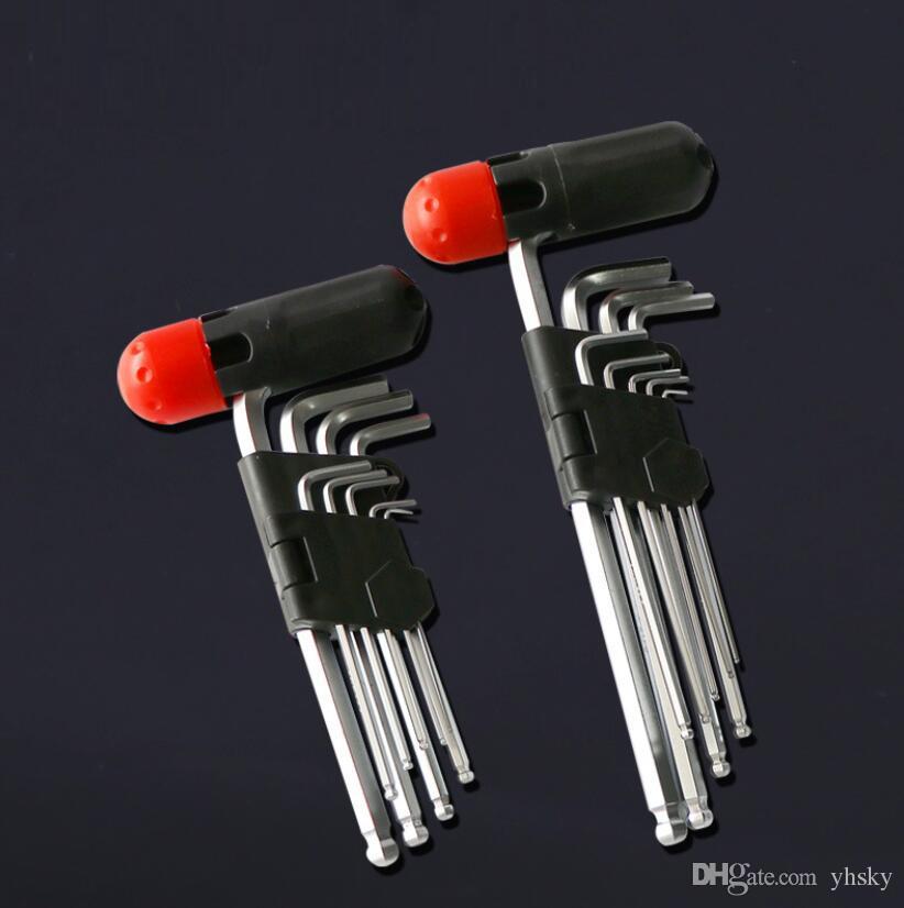 8 Stück Hexagon Fahrrad Inbusschlüssel Schraubenschlüssel Reparatur Werkzeug