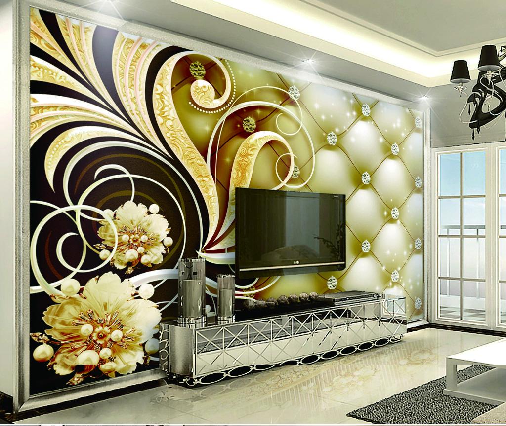Acheter Peinture Murale Décorative De Mur Intérieur De Sac Molle Victorien Royal De Diamant Au Détail 3d De 35 18 Du Yunlin188 Dhgate Com